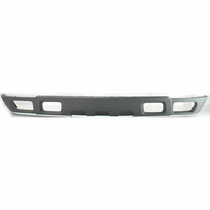 Ots Bumper Air Deflector Lower For 03 07 Chevy Silverado Textured Black Valance Ebay Chevrolet Silverado Chevrolet Silverado 2500