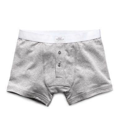H&M David Beckham Bodywear Boxers - Grey Marl (S)