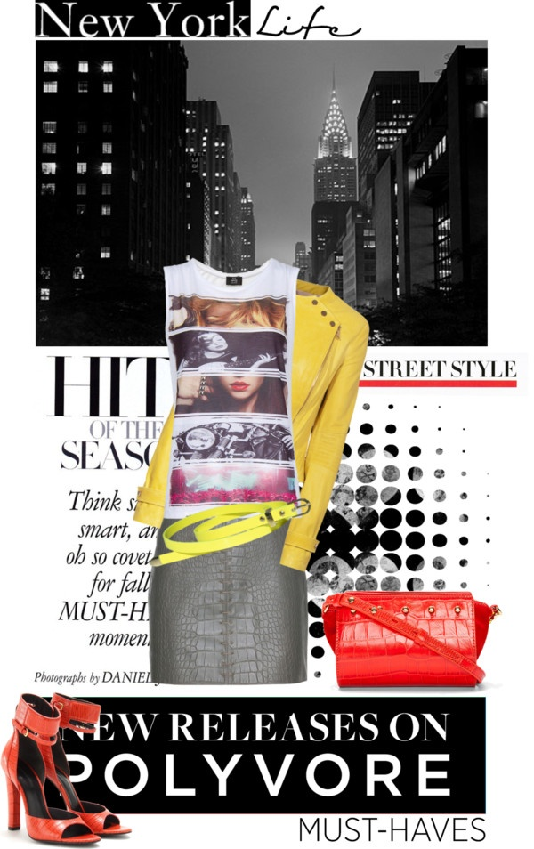 """""""NY Life."""" by christine78 ❤ liked on Polyvore"""