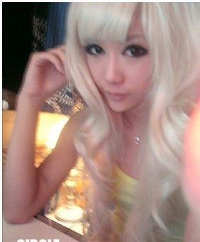 $21.39 (Buy here: https://alitems.com/g/1e8d114494ebda23ff8b16525dc3e8/?i=5&ulp=https%3A%2F%2Fwww.aliexpress.com%2Fitem%2FLong-curly-hair-fluffy-non-mainstream-cosplay-white-wig-series-of-girls-long-curly-hair%2F779655092.html ) Long curly hair fluffy non-mainstream cosplay white wig series of girls long curly hair for just $21.39