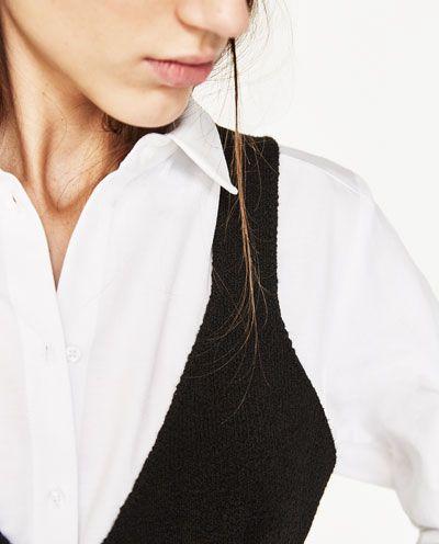 Image 7 of OVERSIZED SHIRT from Zara