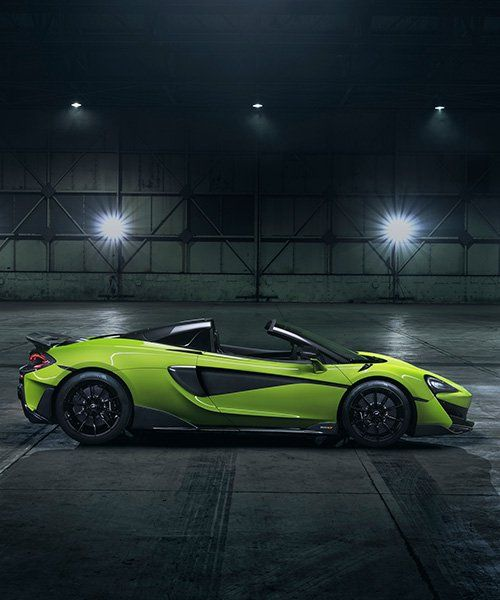 Mclaren 600lt Spider Adds Retractable Roof With Its Vertical Exhausts