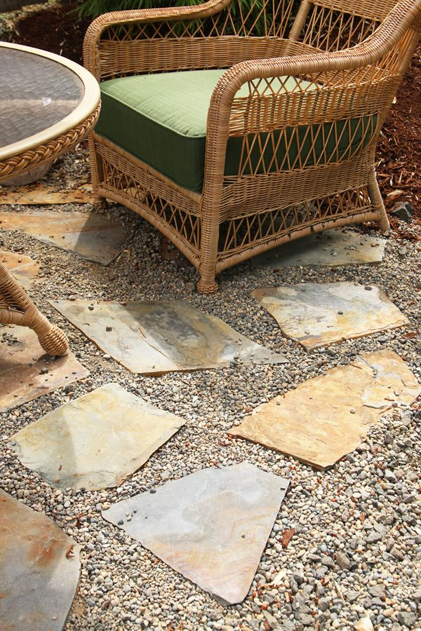 The Inspired Room Flagstone Patio