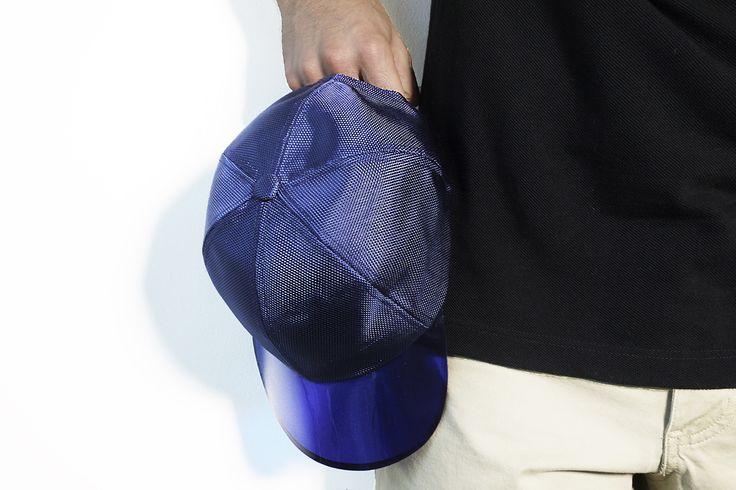 casquette visière transparente Zara (en boutique).