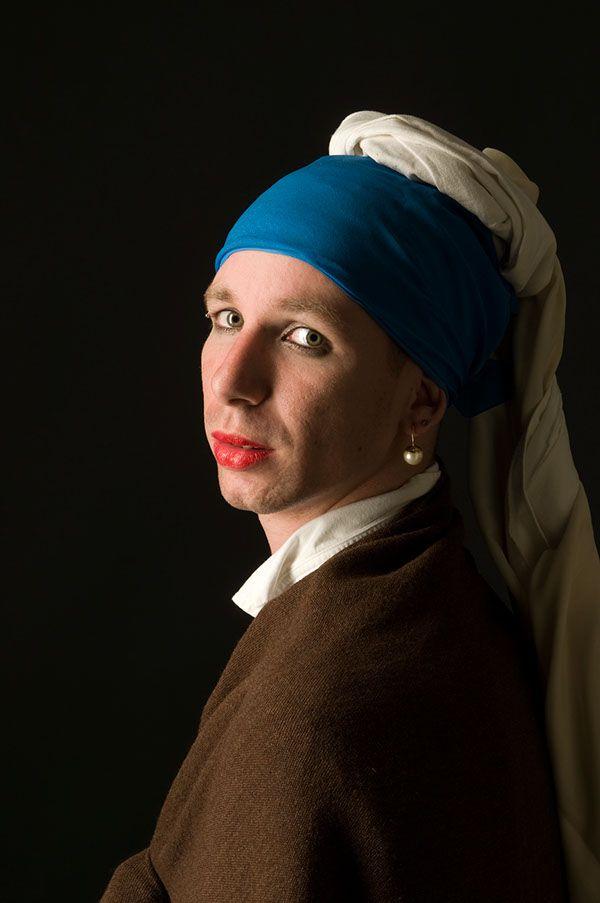 92 best Vermeer Art Parody images on Pinterest | Pearl ...