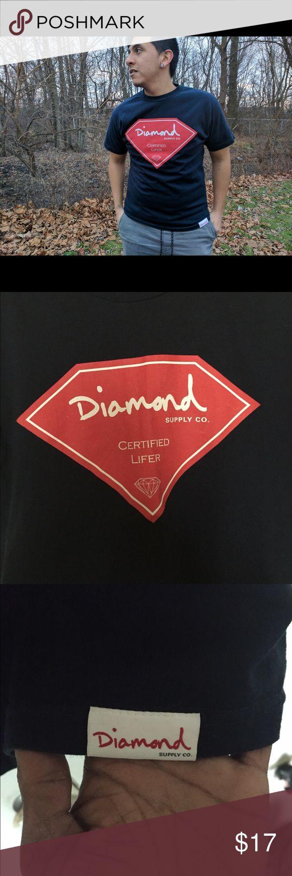 Fire Diamond supply company og Diamond supply company size medium og Diamond Supply Co. Shirts Tees - Short Sleeve