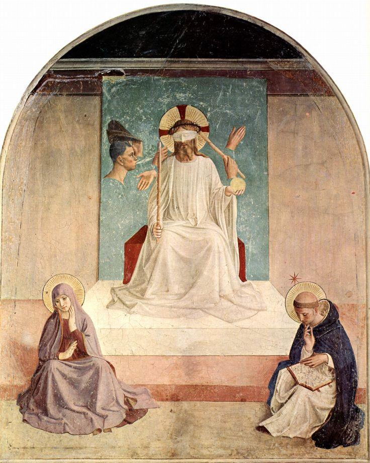 38. Naigrywanie się z Chrystusa, Fra Angelico, San Marco