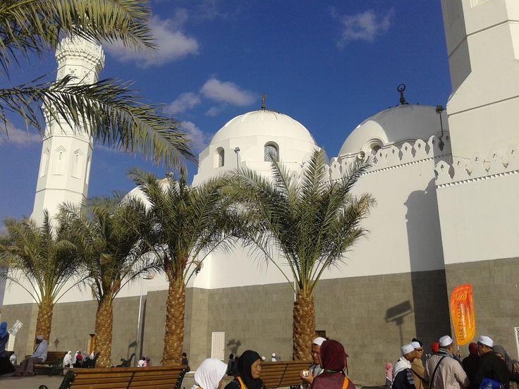 Ziarah Masjid Quba' di Madinah dari rombongan jamaah umroh PT. Ibnu Hajar Persada
