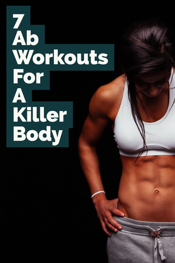 7 Ab Workouts for a Killer Body | Stomach Exercises | Ab Exercises