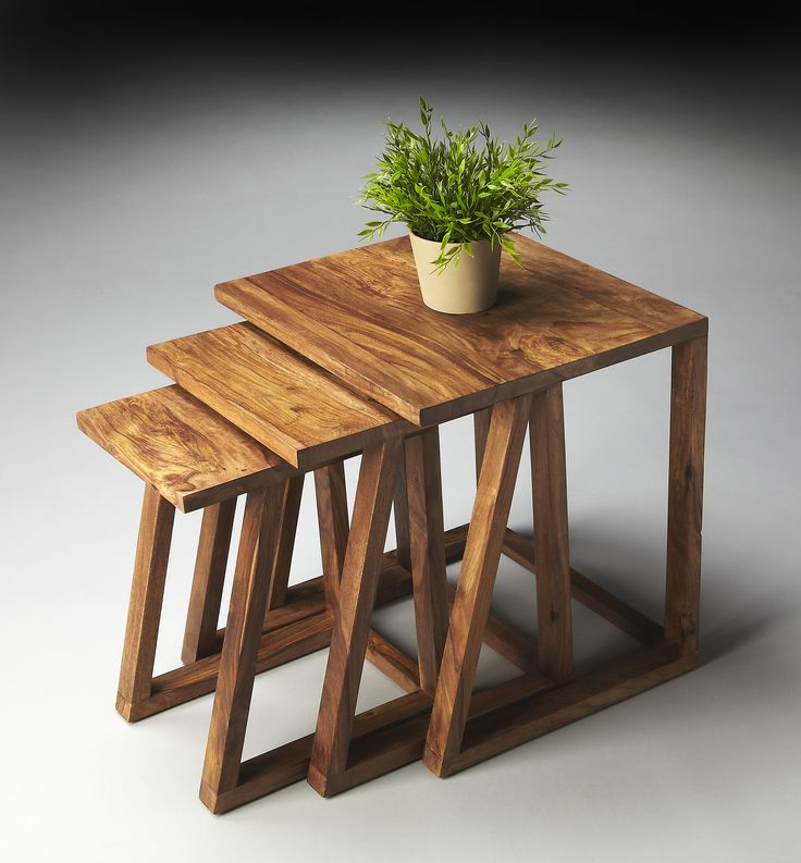 Mira Modern Nesting Tables by Butler Specialty Company 2041140
