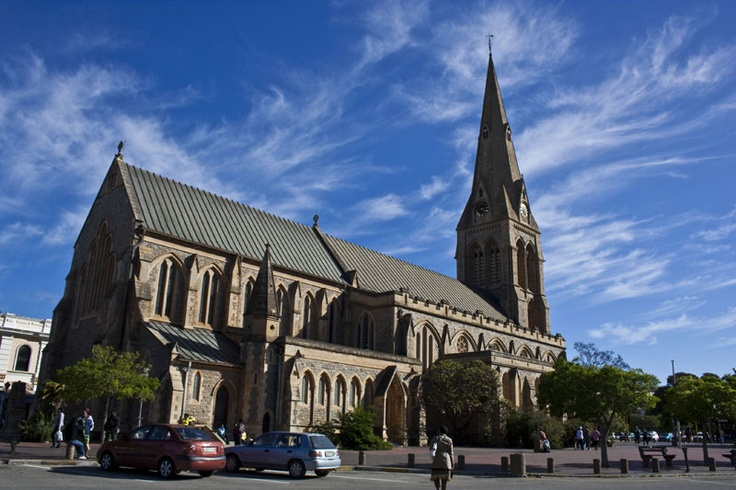 St Michael and George Cathedral in the centre of town.