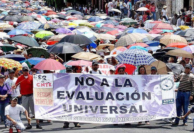 La CNTE amenaza con suspender clases de manera indefinida en Oaxaca