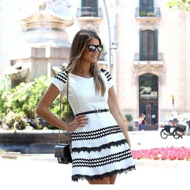 Look de hoje escolha da top Blogger @arianecanovas direto de Barcelona arrasando by bambolarp