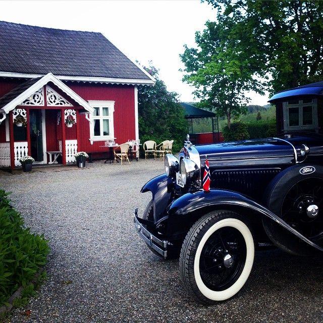 Sola kom med brudeparet i dag!☀️ #bryllup #bamsrudlåven #mysen #østfold #aford