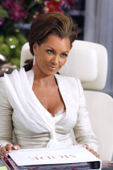 Wilhelmina (Vanessa Williams) ~ Ugly Betty ~ Episode Pics ~ Season 1, Episode 2: The Box and the Bunny #amusementphile