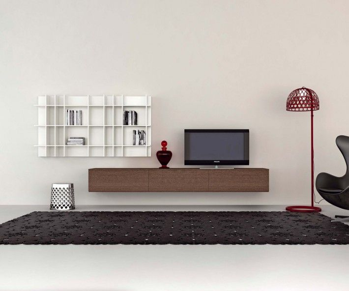 novamobili h ngendes tv lowboard b 270 cm wands and tvs. Black Bedroom Furniture Sets. Home Design Ideas
