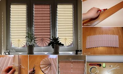 DIY Pull-Up Paper Window Shade | Diy And Crafts Idea