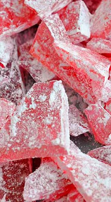 Christmas Rock Candy