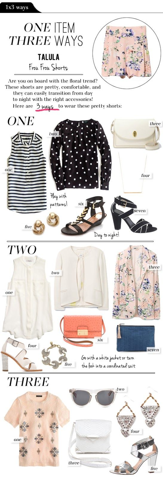 These versatile shoes go with lots of different outfits. styled here