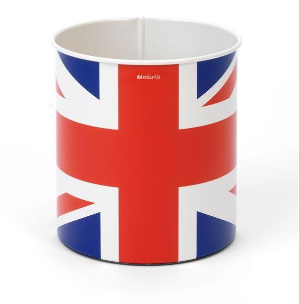 Brabantia Papirkurv Union Jack 7 Liter