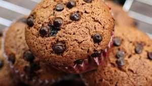 Parça Çikolatalı Kakaolu Muffin