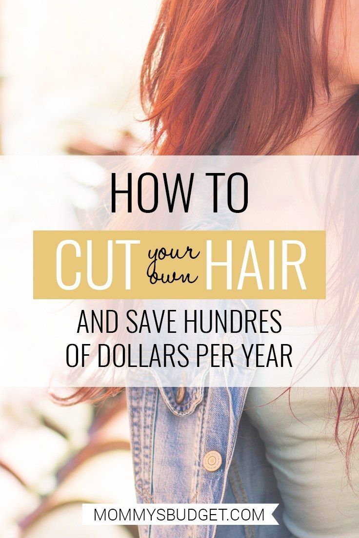 how to cut your own hair women layers