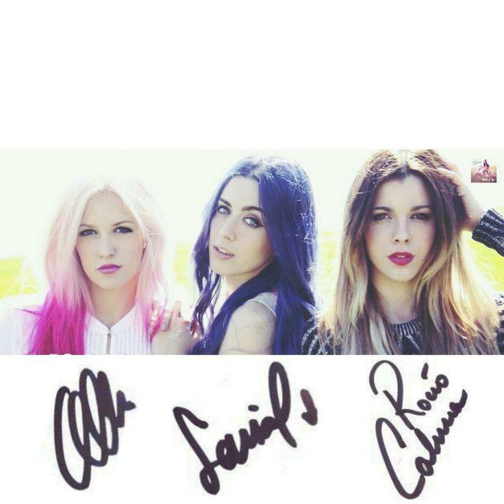 Alba, Sonia, Rocío & sus respectivas firmas ;)