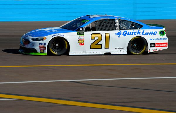 Ryan Blaney Photos - Ryan Blaney, driver of the #21 SKF/Quick Lane Tire & Auto Center Ford, practices for the Monster Energy NASCAR Cup Series Can-Am 500 at Phoenix International Raceway on November 11, 2017 in Avondale, Arizona. - Phoenix International Raceway - Day 2