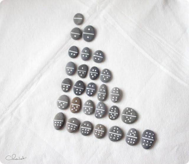Aller chercher des cailloux sur la plage de l'almanarre pour faire des dominos ^^ Et puis la neige elle est trop molle