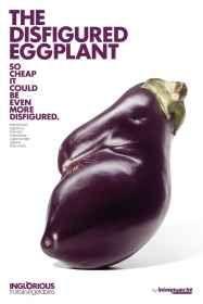Intermarche: Disfigured eggplant