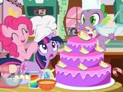 My Little Pony Cooking Cake is a free Games For Girls. If you want to play more games, check out: Pregnant Barbie Cooking Pony Cake game, Chocolate Cake: Saras Cooking Class game, Owl Cake: Saras Cooking Class game. To play even more games, head over to the My Little Pony games at ChipGames.net