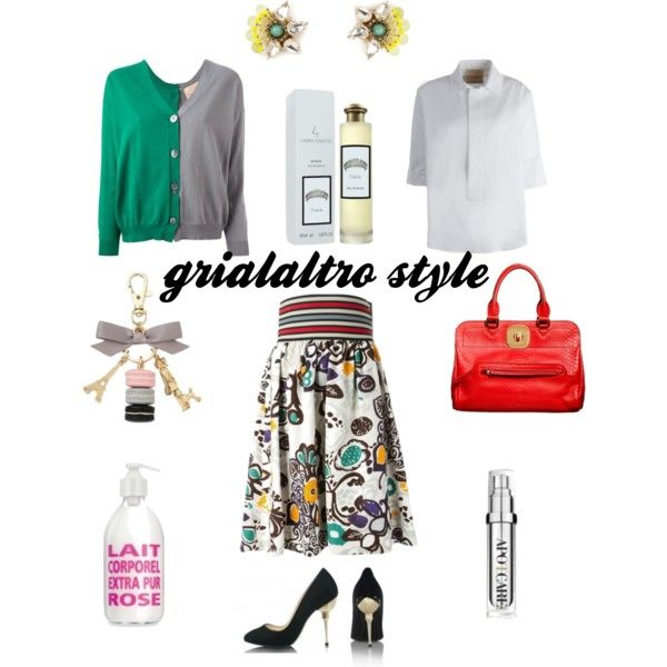 grialaltro style by grialaltroconceptstore on Polyvore featuring moda, Erika Cavallini Semi-Couture, Longchamp, Tataborello and PUR