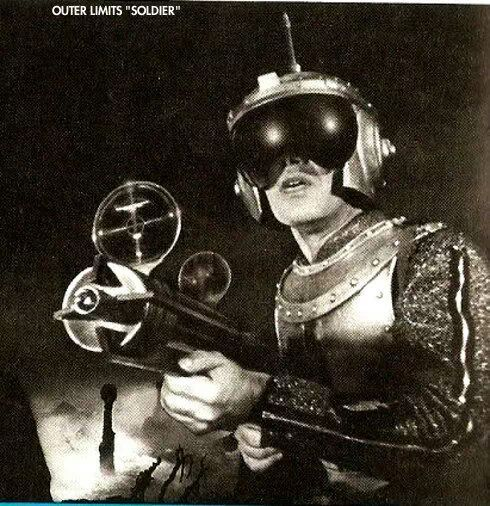 Image result for images of outer limits super soldier