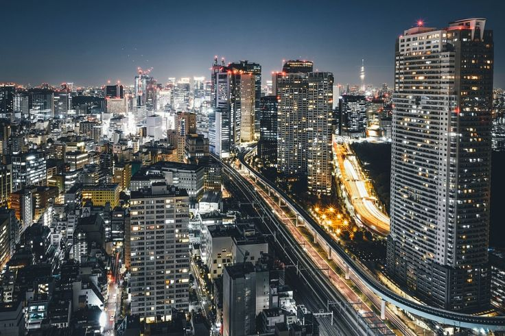 Tokyo city by Takashi Yasui #xemtvhay
