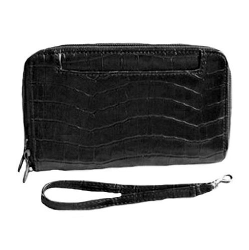 Mundi Big Fat Wallet - Women's cell phone wallet/wristlet w/ RFID blocking privacy liner to shield your credit cards from criminal technology and help protect your information.