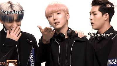 wonho, kihyun, jooheon