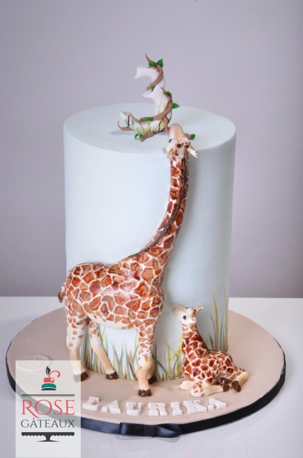 Giraffe cake - Cake by rosegateaux