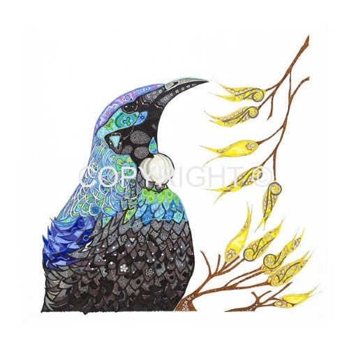 Love this pen and ink artwork by local artist Carolyn Boyd. Stunning!