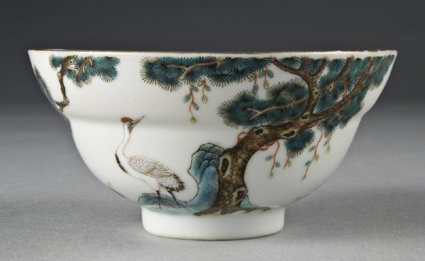 Lot: 171: (11) Chinese Qing Xuantong Imperial porcelain bowl, Lot Number: 0171, Starting Bid: $1,000, Auctioneer: Dallas Auction Gallery, Auction: Antiques, Fine Art, and Jewelry, Date: December 9th, 2009 CET