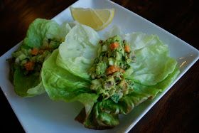 The Spinach Spot: Avocado Lettuce Wraps
