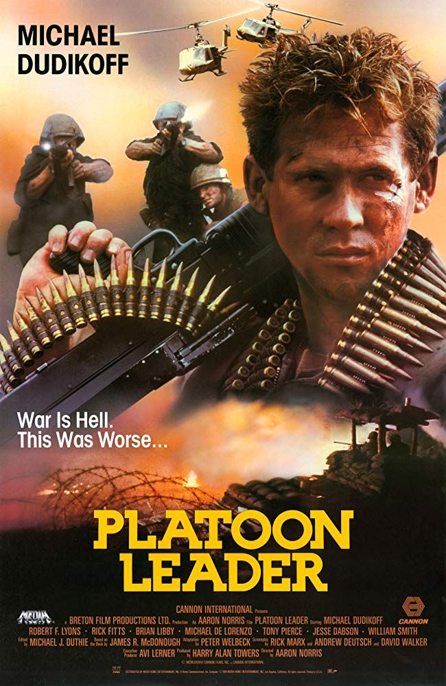 Platoon Leader 1988 Michael Dudikoff Dvd Cannon Film