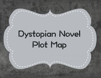 This worksheet is a plot map template for dystopian novels. The design matches the rest of the dystopian items in my shop and the plot map itself guides students through the various sections of a dystopian novel with questions and remindsThis activity can be used with any dystopian novel!