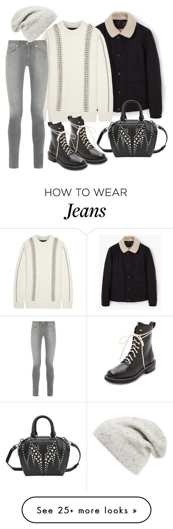 """Untitled #3210"" by bubbles-wardrobe on Polyvore featuring мода, MANGO, Alexander Wang и rag & bone"