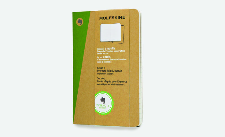 Moleskine Evernote Journals Are Easily Digitized | Cool Material