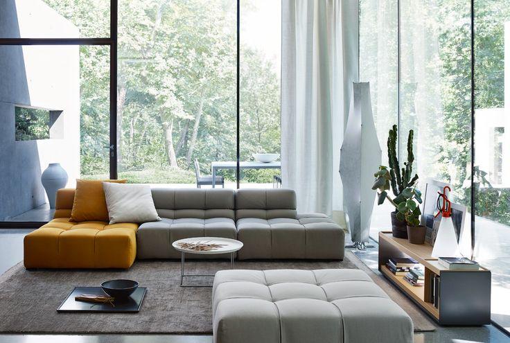 Sofa: TUFTY-TIME 15 - Collection: B&B ITALIA - Design: Patricia Urquiola