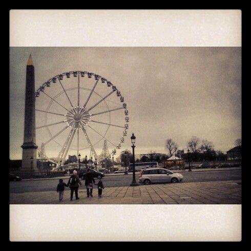 I watched it begin again :-D #Paris #Concorde