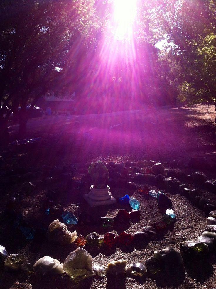Andara Crystal Spiral light | Sacrade places, sacred ...
