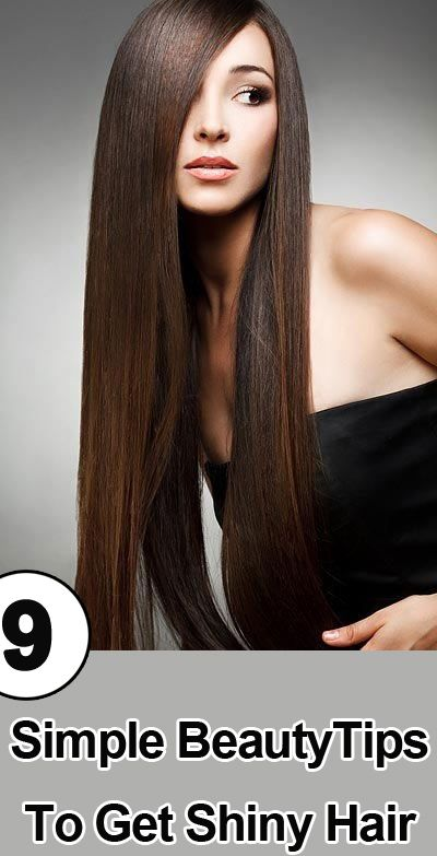 To Get Shiny Hair: I have listed out 10 beauty tips for shiny hair ...