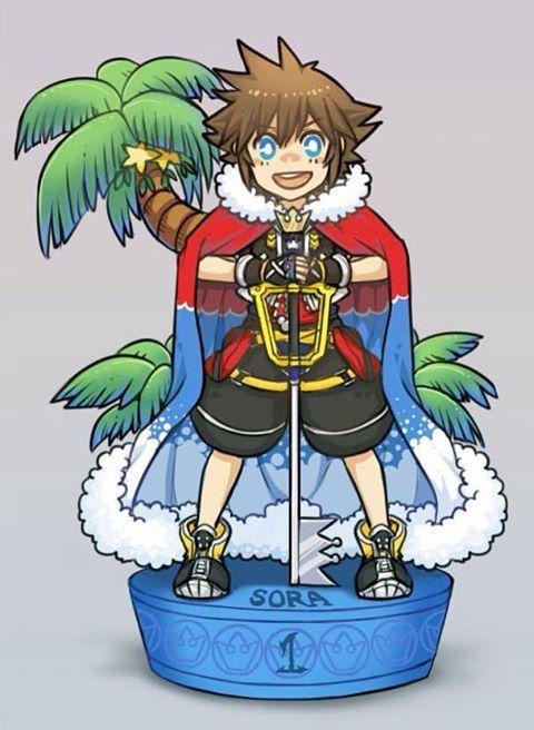 Sora - Kingdom Hearts II
