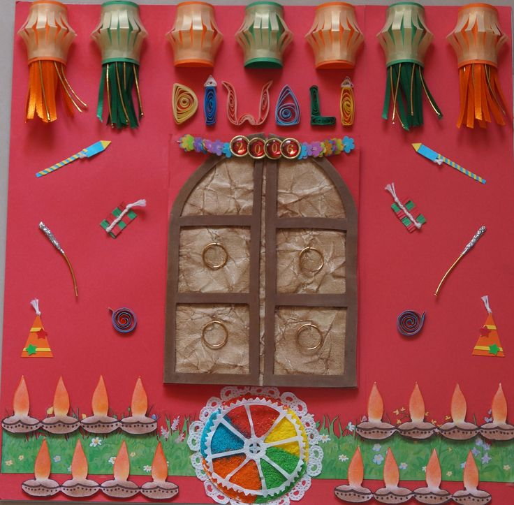 55 best images about diwali on pinterest paper lanterns for Art and craft for diwali decoration